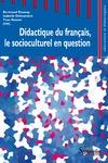 Livre numérique Didactique du français, le socioculturel en question