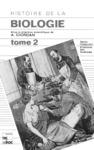 Livre numérique Histoire de la biologie Tome 2 (2° tirage)