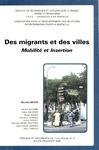 Livre numérique Des migrants et des villes