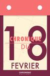 Livre numérique Chronique du 18  février