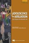 Livre numérique Adolescence et affiliation