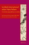 Livre numérique Le droit international selon Hans Kelsen