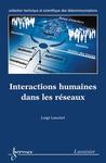 Livre numérique Interactions humaines dans les réseaux