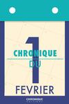 Livre numérique Chronique du 1er  février