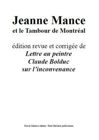 Jeanne Mance, et le Tambour de Montr?al