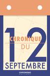 Livre numérique Chronique du 12 septembre