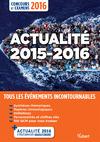 Livre numérique Actualité 2015-2016 - Concours et examens 2016