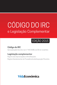 C?digo do IRC e legisla??o Complementar - 2015