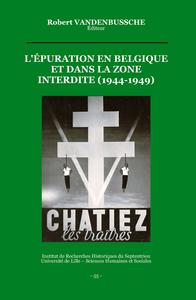 Livre numérique L'épuration en Belgique et dans la zone interdite (1944-1949)