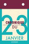 Livre numérique Chronique du 23  janvier