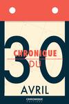 Livre numérique Chronique du 30  avril