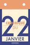 Livre numérique Chronique du 22  janvier