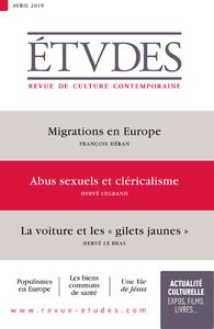 ETUDES 4259 - AVRIL