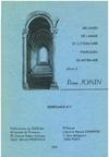 Livre numérique Mélanges de langue et littérature françaises du Moyen Âge offerts à Pierre Jonin