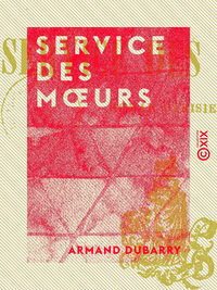 Service des moeurs, Roman parisien