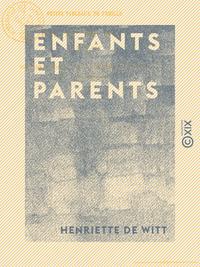 Enfants et Parents - Petits tableaux de famille