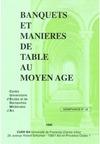 Livre numérique Banquets et manières de table au Moyen Âge
