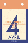 Livre numérique Chronique du 4  avril