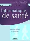 Livre numérique Informatique de santé