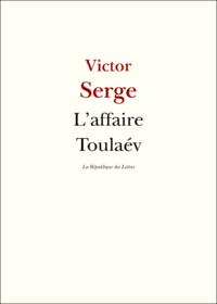 Livre numérique L'affaire Toulaév