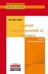Livre numérique Paul Reynolds - Activité entrepreneuriale et croissance