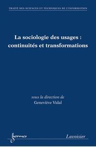 Livre numérique La sociologie des usages