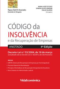 Código da Insolvência e da Recuperação de Empresas, Anotado 4ª edição