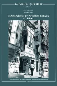 Livre numérique Municipalités et pouvoirs locaux au Liban