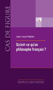 Qu'est-ce qu'un philosophe français?