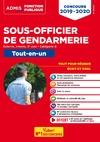 Livre numérique Concours Sous-officier de gendarmerie - Catégorie B - Tout-en-un - 20 tutos offerts
