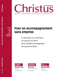 CHRISTUS 265 - JANVIER - POUR UN ACCOMPAGNEMENT SANS EMPRISE