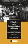 Livre numérique Histoire de la documentation en France