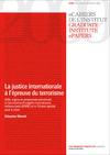 Livre numérique La justice internationale à l'épreuve du terrorisme