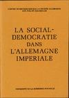 Livre numérique La Social-Démocratie dans l'Allemagne impériale