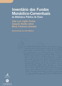 Livre numérique Inventário dos Fundos Monástico-Conventuais da Biblioteca Pública de Évora