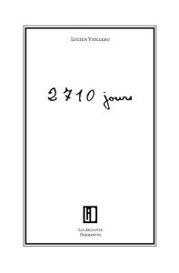2710 jours, journal d'un prisonnier de guerre
