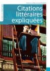 Livre numérique Citations littéraires expliquées