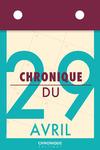 Livre numérique Chronique du 29  avril
