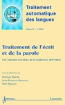 Livre numérique Traitement de l'écrit et de la parole (Traitement automatique des langues Vol. 45 N° 3/2004)