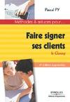 Livre numérique Faire signer ses clients