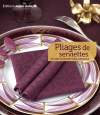 Livre numérique Pliages de serviettes
