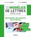 Livre numérique Tous les modèles de lettres pour agir - Défendre ses droits de citoyen