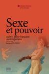 Livre numérique Sexe et pouvoir dans la prose française contemporaine