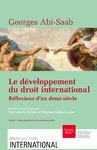 Livre numérique Le développement du droit international: réflexions d'un demi-siècle. VolumeI