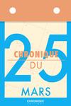 Livre numérique Chronique du 25 mars