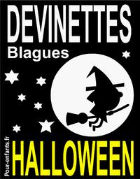 Devinettes et blagues d'Halloween