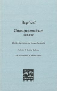 Livre numérique Chroniques musicales (1884-1887)