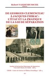 Livre numérique De Georges Clemenceau à Jacques Chirac : l'état et la pratique de la Loi de Séparation