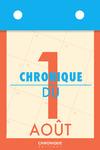 Livre numérique Chronique du 1er août