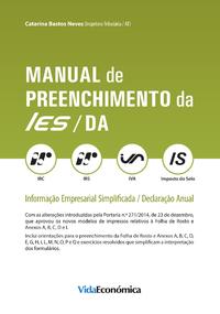 Manual de preenchimento da IES/DA